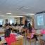 36 alumnos e 4 profesores do IES focense participaron hoxe no obradoiro de banda deseñada impartido polo ilustrador Xosé Tomás na biblioteca municipal de foz para celebrar o Día do Libro.